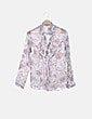 Camisa cruda estampado floral Massimo Dutti