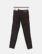 Jeans denim skinny verde desflecado Zara