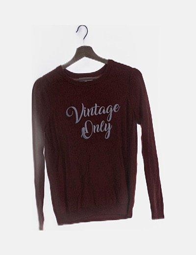 "Jersey rojo ""Vintage only"""