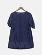 Blusa azul marina estampada Verysimple