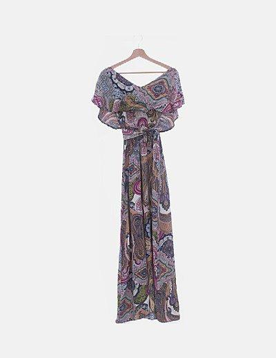 Maxi vestido multicoor