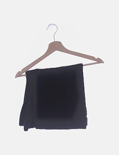 Cuello tricot negro