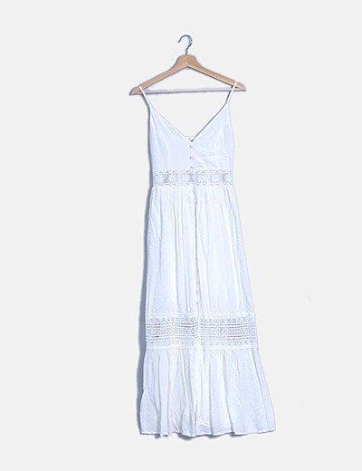 Vestido boho blanco