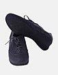 Zapato gris animal print Funchal