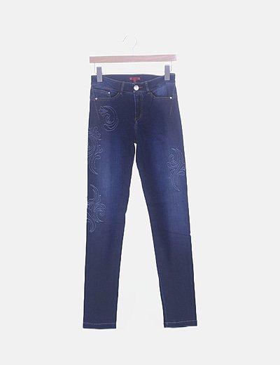Jeans denim push up