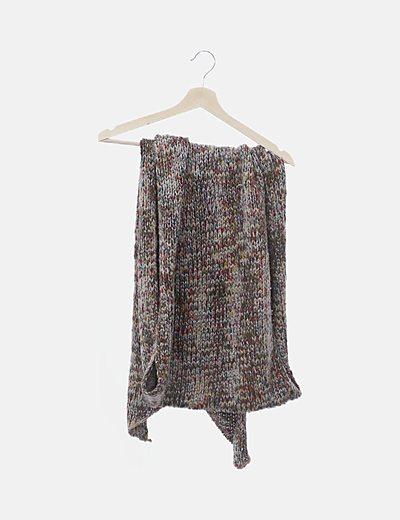 Maxi bufanda lana multicolor