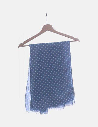 Pañuelo azul motas