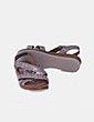 Sandalia metalizada Oh my sandals