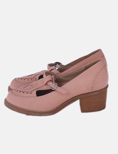 Zapatos náuticos rosas