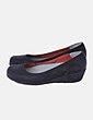 Sapatos de cunha Yokono