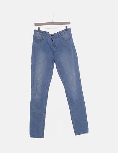 Jeans denim azul claro