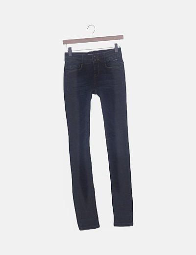 Pantalón denim azul marino