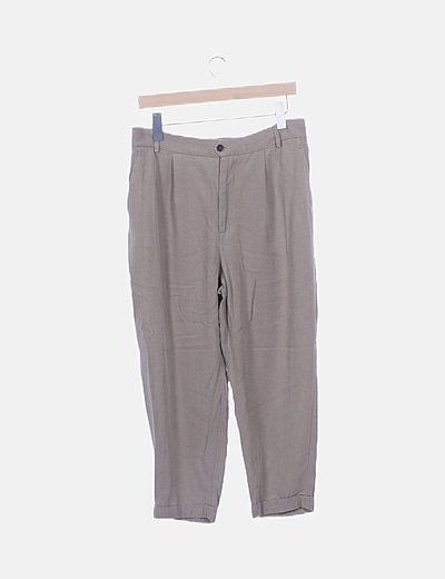 Pantalón chino fluido