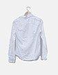 Camisa blanca escote plisado Tommy Hilfiger