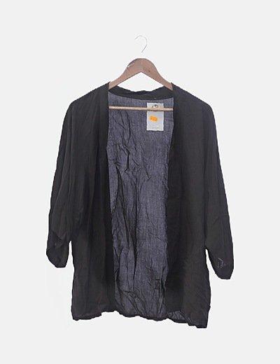 Kimono marrón básico
