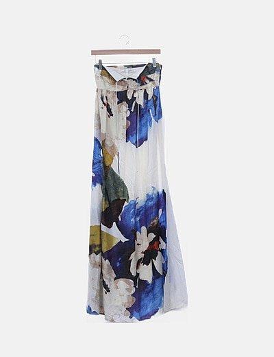 Vestido maxi Zara