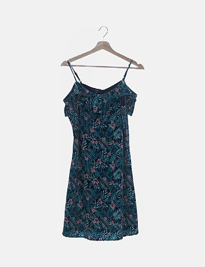 Vestido de tirantes print floral