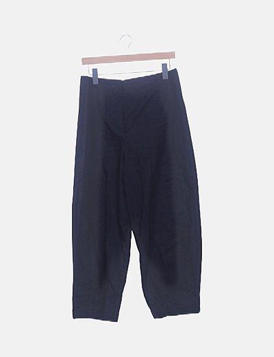 Pantalón recto negro