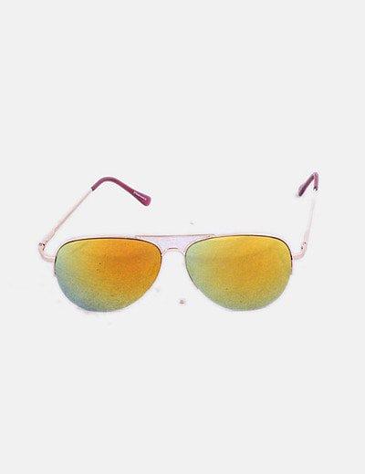 Gafas aviador cristal amarillo