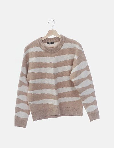 Jersey tricot bicolor