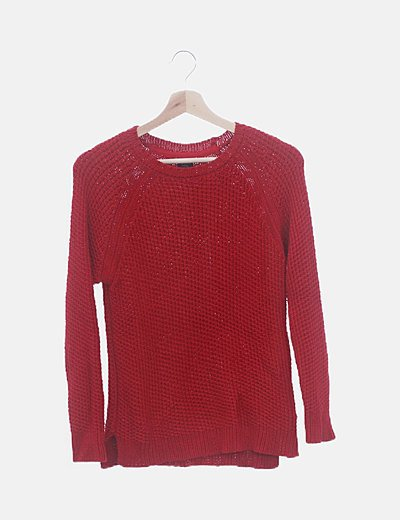 Jersey rojo tricot