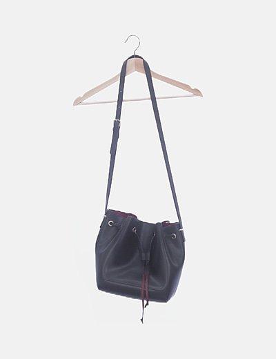 Bolso saco negro