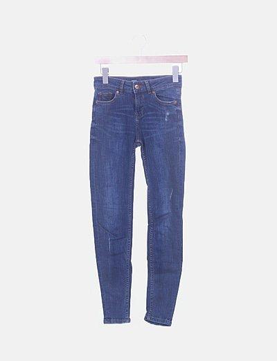 Jeans denim skinny ripped