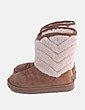 Bota esquimal camel con borrego UGG