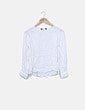 Blusa blanca fluida Zara