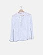 Blusa blanca con detalle lazo Pull&Bear