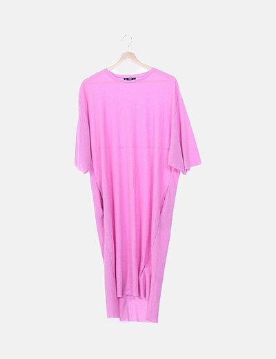 Maxi vestido rosa