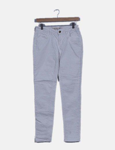 Jeans denim skinny blanco
