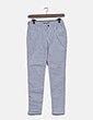 Jeans denim skinny blanco Massimo Dutti