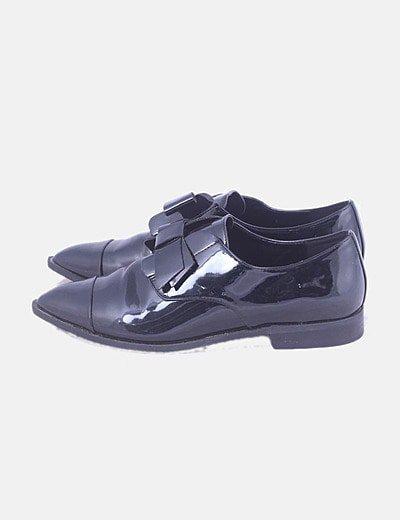 Zapatos charol negro