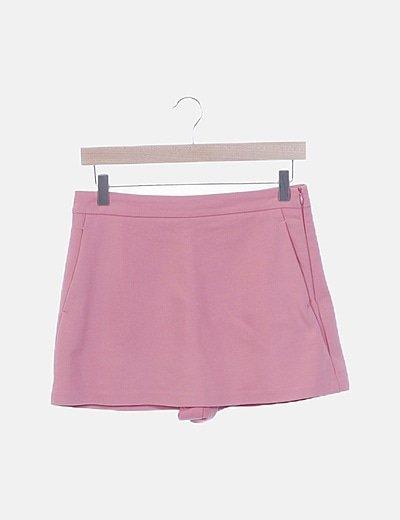 Faldapantalón rosa