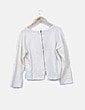 Jersey de punto beige con glitter Zara