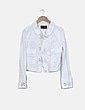 Cazadora blanca con bolsillos Armani Jeans