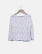 Blusa crochet blanco roto Stradivarius