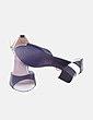 Sandalia bicolor con tacón MOOM