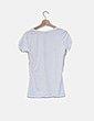 Camiseta blanca print estrellas BERNA