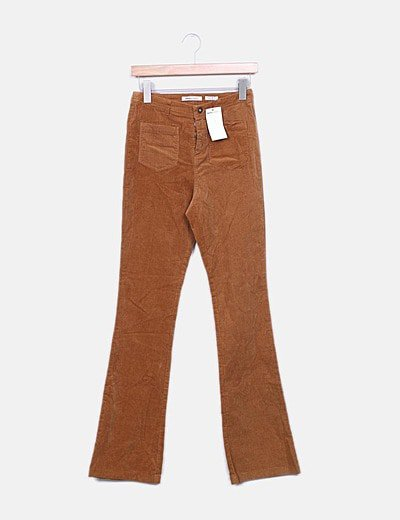 Pantalón de pana marrón