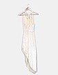 Vestido maxi amarillo de terciopelo Suiteblanco