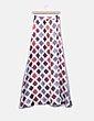 Maxi falda satinada rosa combinada Suiteblanco