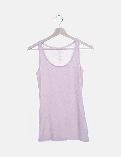 Camiseta nadadora rosa
