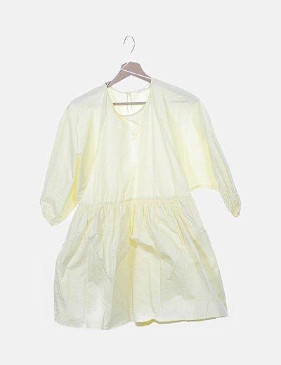Vestido fluido amarillo