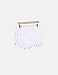 Short crochet blanco Pull&Bear