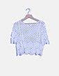 Blusa crochet blanca Suiteblanco