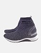Sneaker calcetín gris Chika10