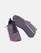 Sneaker multicolor con cuña ASH