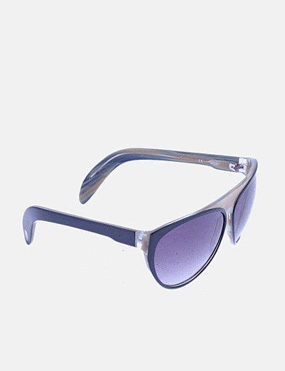 Gafas de sol negras combinadas